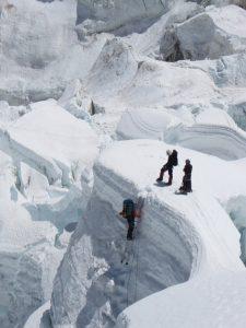 Khumbu Ice Falls